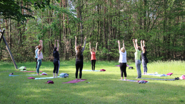 Outdoor Yoga 2020 | Saisonstart